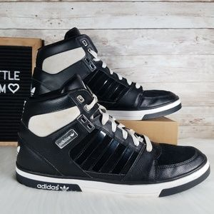 Adidas Originals Hard Court Hi Basketball Shoes